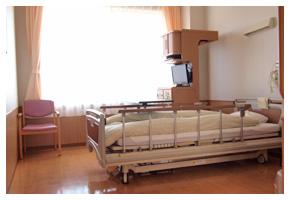 患者さまに、安心して快適な入院生活をお送りいただき、1日も早く回復されるよう、お手伝いいたします。